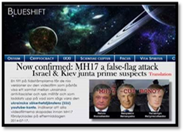 MH17 -- Israel False Flag