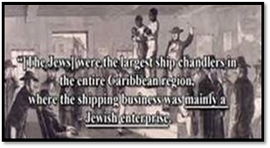 Jews controlled African slavery