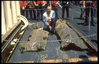 Deaths at U.S.S. Liberty